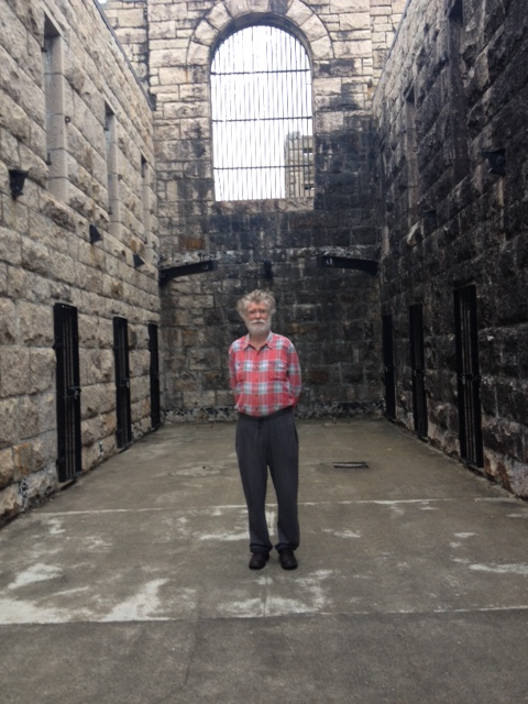Phil at Trial Bay Gaol